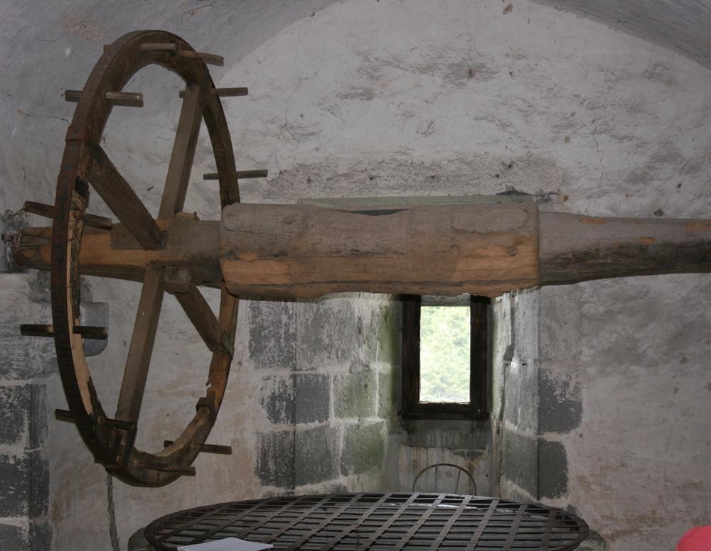 roue de puits avant
