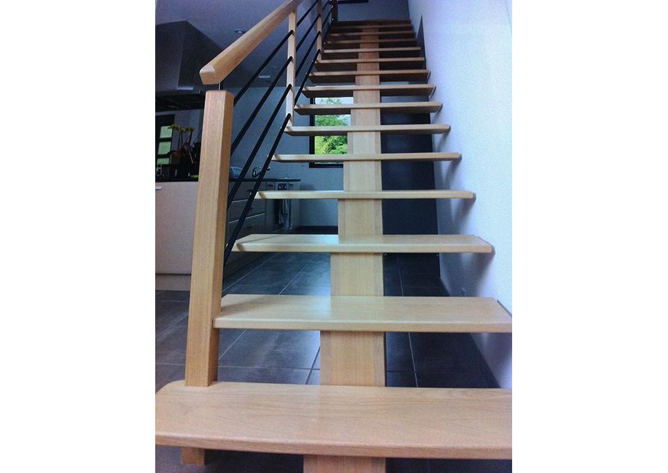 escalier menuiserie bertin