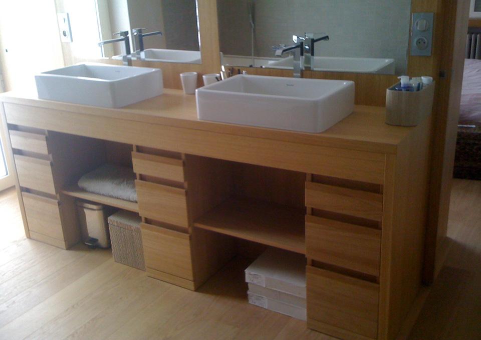 Conception et pose de mobilier sanitaire